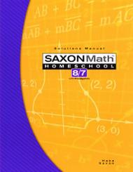 Saxon Math 8/7 With Pre-Algebra