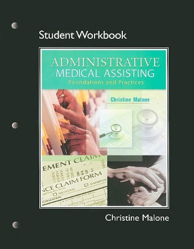Student Workbook For Administrative Medical Assisting