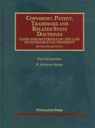 Copyright Patent Trademark And Related State Doctrines