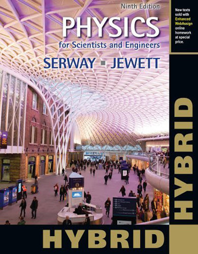Physics For Scientists And Engineers Technology Update Hybrid Edition