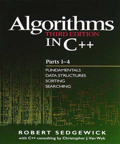 Algorithms In C++ Parts 1-4