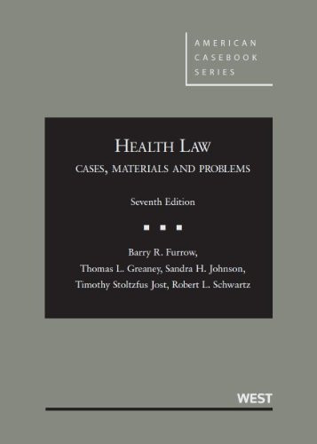Health Law Cases Materials Problems