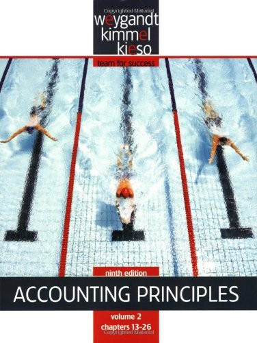 Accounting Principles Volume 2