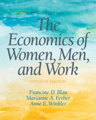 Economics Of Women Men And Work