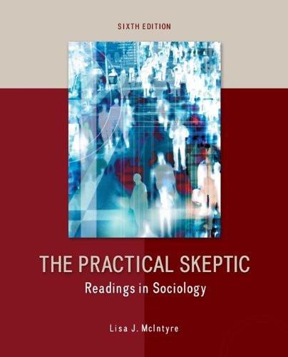 Practical Skeptic Readings in Sociology