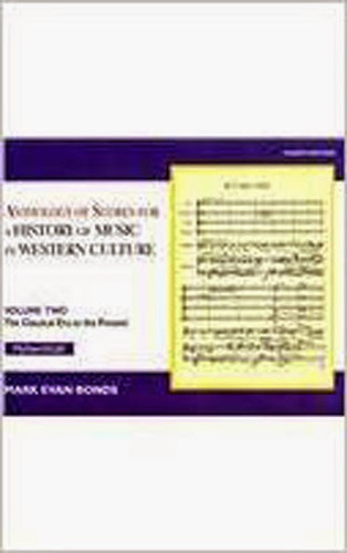 Anthology Of Scores To A History Of Music Volume 2