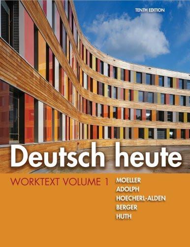 Deutsch Heute Worktext Volume 1