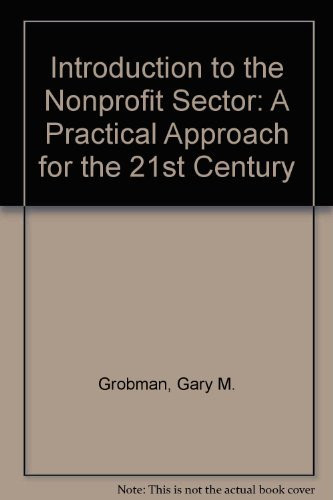 Introduction To The Nonprofit Sector