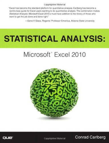 Statistical Analysis Microsoft Excel 2010