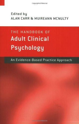 Handbook Of Adult Clinical Psychology