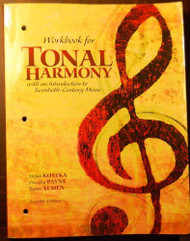 Workbook For Tonal Harmony
