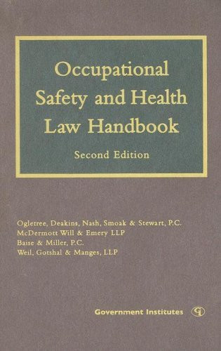 Occupational Safety And Health Law Handbook by Margaret S ...