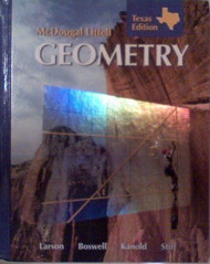 Mcdougall Littell Geometry Texas Edition