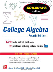 Schaum's Outline of College Algebra