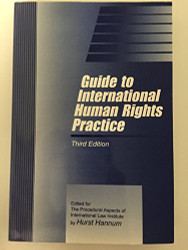 Guide To International Human Rights Practice