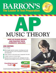 Barron's Ap Music Theory With Audio Compact Discs
