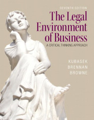 The Legal Environment Of Business - Nancy Kubasek