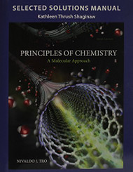 Student Solutions Manual For Chemistry A Molecular Approach