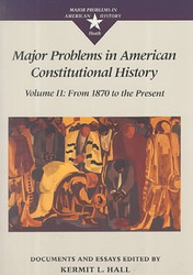 Major Problems In American Constitutional History