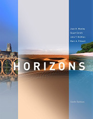 Student Activities Manual For Horizons