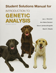 Solutions Manual For An Introduction To Genetic Analysis