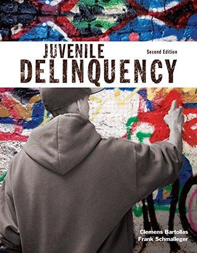 Juvenile Delinquency Justice Series