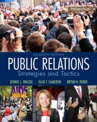 Public Relations - Strategies and Tactics