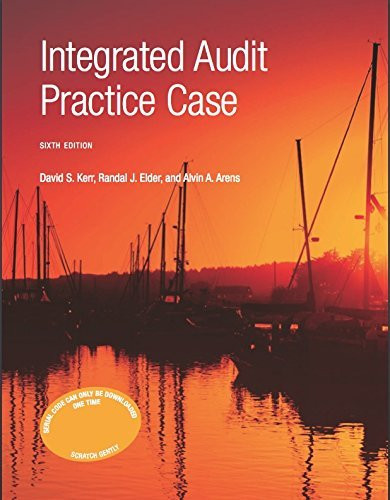 Integrated Audit Practice Case