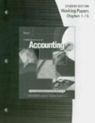 Working Papers For Gilbertson/Lehman's Fundamentals Of Accounting