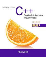Starting Out With C++ Brief Version