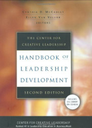 Center For Creative Leadership Handbook Of Leadership Development