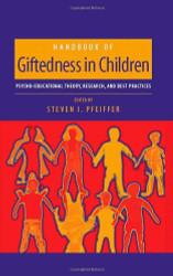 Handbook Of Giftedness In Children
