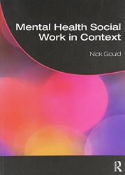 Mental Health Social Work In Context