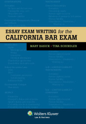 Essay Exam Writing For The California Bar Exam