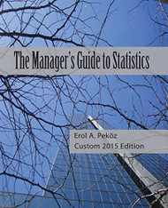 Manager's Guide To Statistics Custom