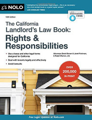 California Landlord's Law Book Rights & Responsibilities