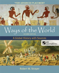 Ways Of The World With Sources For Ap* With Launchpad and E-Book