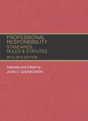 Professional Responsibility Standards Rules And Statutes