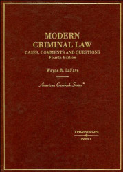 Modern Criminal Law