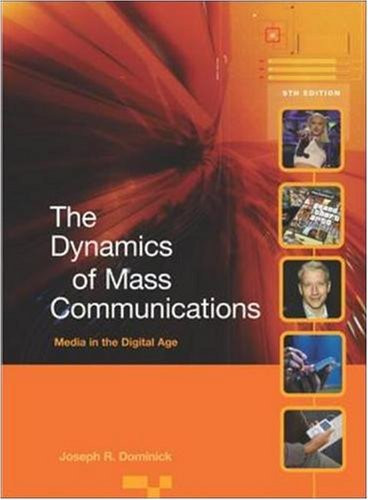 Dynamics Of Mass Communication