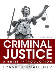 Criminal Justice Brief Introduction MyCJLab