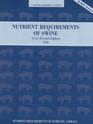 Nutrient Requirements Of Swine