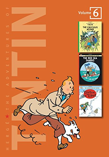 Adventures Of Tintin Volume 6