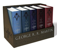 George R R Martin's A Game Of Thrones Leather-Cloth Boxed Set