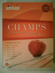 Champs A Proactive and Positive Approach to Classroom Management