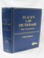 Black's Law Dictionary With Pronunciations