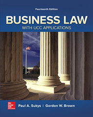 Business Law With Ucc Applications
