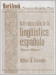 Student Workbook For Introduccion A La Linguistica Espanola