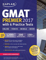 Kaplan Gmat 2017 with 6 Practice Tests