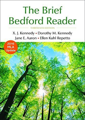 Brief Bedford Reader